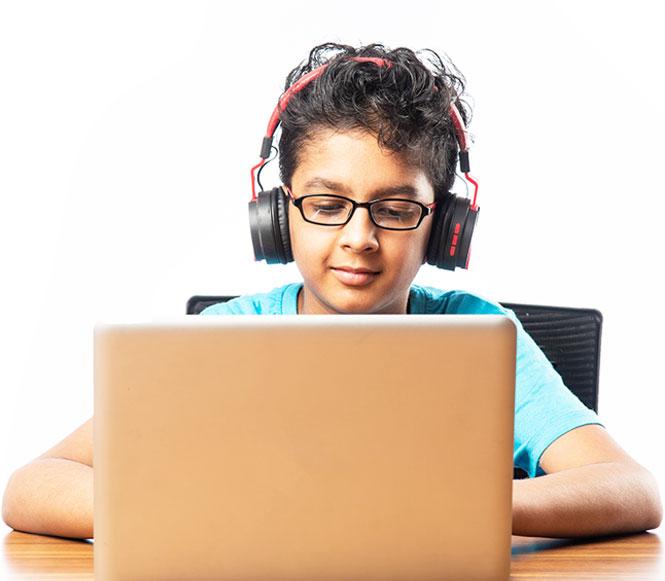 Child-Working-Laptop